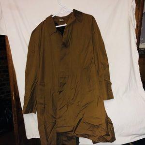 Men's 38 vintage trench coat